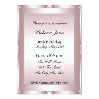 Dulce popular dieciséis 16 de la invitación invitación 12,7 x 17,8 cm