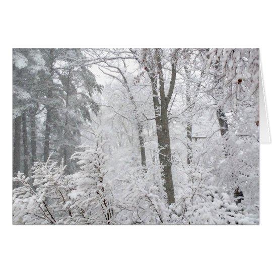 Dulces en nieve --- tarjeta de felicitación