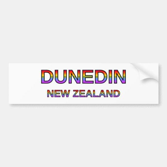 Dunedin orgulloso, Nueva Zelanda Pegatina Para Coche