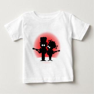 Dúo de la guitarra camiseta de bebé
