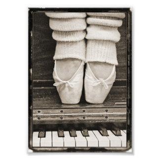 Dúo del ballet del piano pequeño cojinete