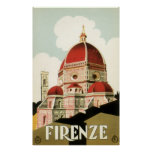 Duomo de la iglesia de Florencia Firenze Italia de Impresiones