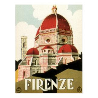 Duomo de la iglesia de Florencia Firenze Italia Postales