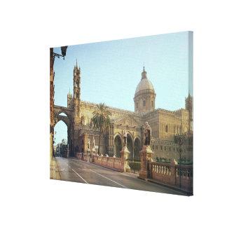 Duomo del EL, fundado por Gualterio, arzobispo de  Impresión En Lienzo