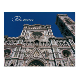 Duomo, o Santa María Del Fiore, Florencia, Italia Postal