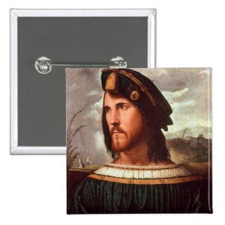 Duque de Cesare Borgia de Valencia Chapa Cuadrada 5 Cm