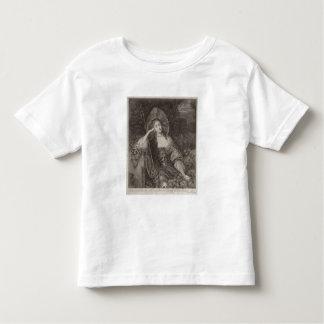 Duquesa de Barbara de Cleaveland (1641-1709) como Camiseta