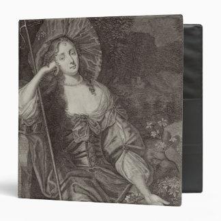 Duquesa de Barbara de Cleaveland (1641-1709) como Carpeta 3,8 Cm