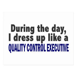 Durante el ejecutivo del control de calidad del postal