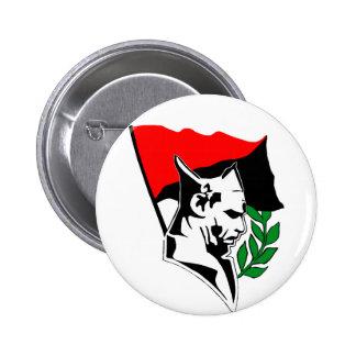 Durruti - Anarchy Flag Chapa Redonda 5 Cm