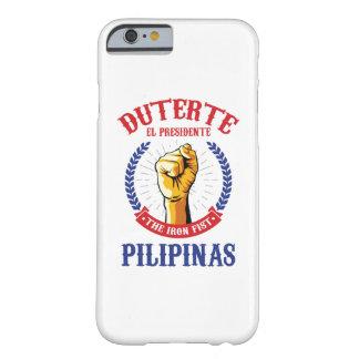 Duterte - caso del iPhone 6/6s del EL Presidente Funda De iPhone 6 Barely There