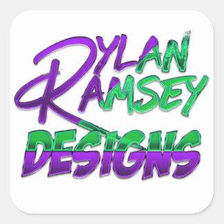Dylan Ramsey diseña a los pegatinas Pegatina Cuadrada
