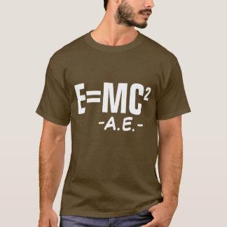 E=MC2 CAMISETA