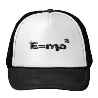 E=mo (gorra del camionero) gorras de camionero