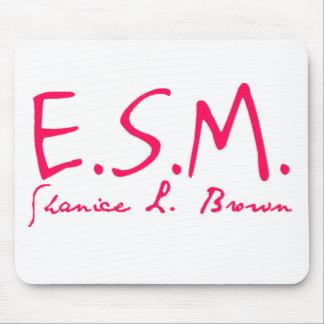 E.S.M. Firma Mousepad Alfombrillas De Raton
