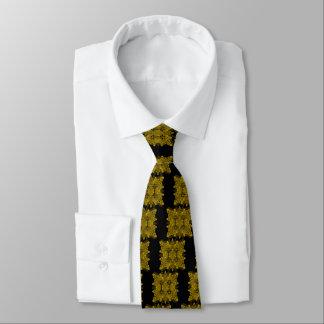 e-uno-espejo-hoja-oro de la letra corbatas