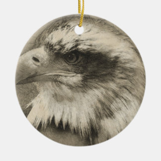 Eagle calvo glorioso Setch Adorno De Cerámica