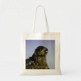 Eagle calvo joven bolsa de mano