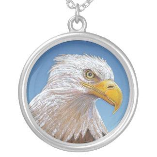 Eagle Pendiente Personalizado