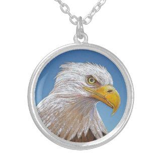 Eagle Collar Plateado