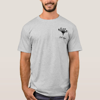 Eagle de alta tecnología - de color claro camiseta