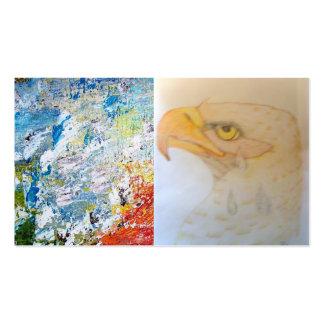 Eagle en el luto; 911 tarjeta de visita