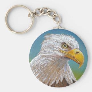 Eagle Llavero Redondo Tipo Chapa