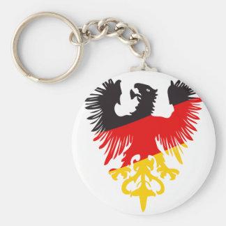 Eagle negro alemán llavero