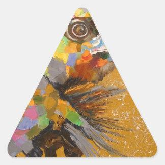 Eagle Pegatina Triangular