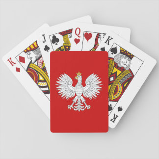 Eagle polaco baraja de cartas