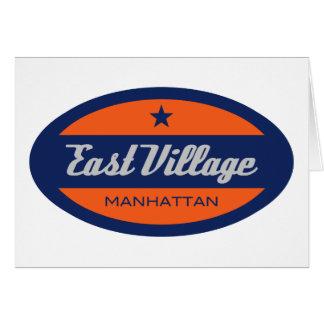 East Village Felicitación