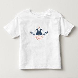 Easter bunnies camiseta de bebé