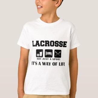 Eat Sleep Play LaCrosse Camiseta