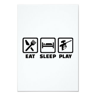 Eat Sleep Play Paintball Comunicados Personales