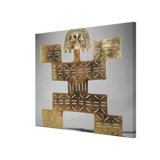 Eche Tumbaga pectoral, de Huaca del Dragon Impresiones En Lona Estiradas