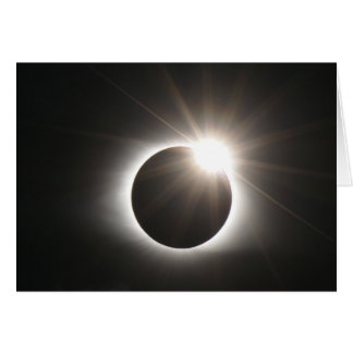 Eclipse - anillo de diamante - tarjeta de