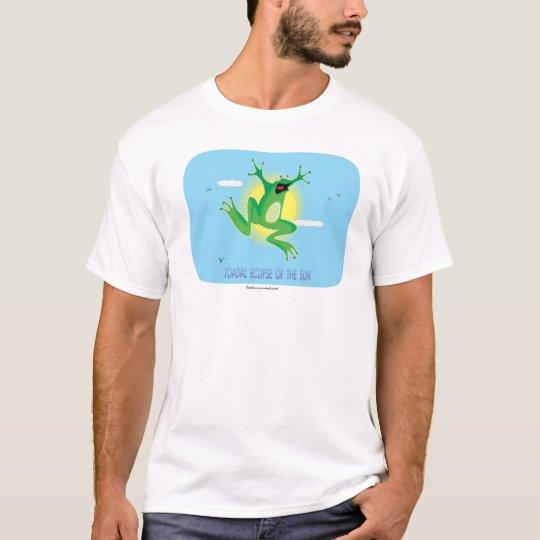 Eclipse de Toadal de la camiseta de Sun