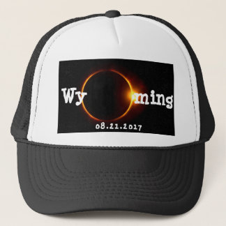 Eclipse solar de Wyoming Gorros Bordados