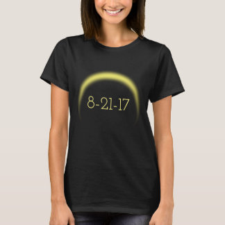 Eclipse solar total 2017 camiseta