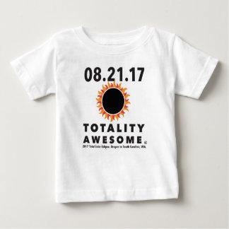 Eclipse solar total camiseta impresionante de la