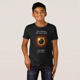 Eclipse solar total - camiseta orgánica