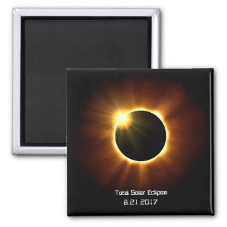 Eclipse solar total - imán
