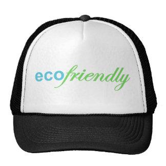 Eco amistoso gorras