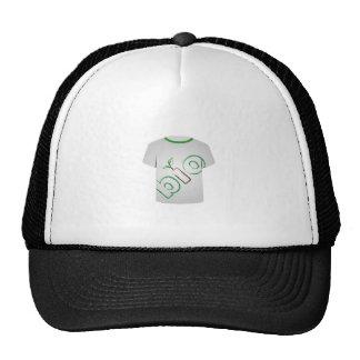 Eco de la plantilla de la camiseta amistoso gorra