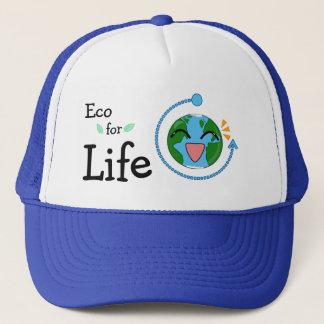 Eco para el gorra del camionero de la Vida