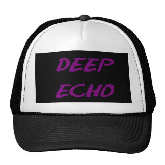 Eco profundo gorras de camionero