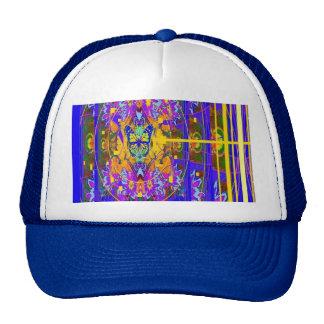 Eco púrpura del añil, regalos del oro por Sharles Gorros
