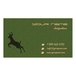 eco temático tarjetas de visita