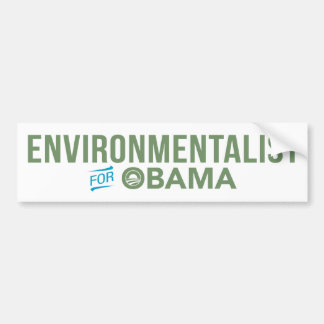 Ecologista para la pegatina para el parachoques de pegatina para coche