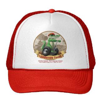 EcoMotion rojo viaja al gorra